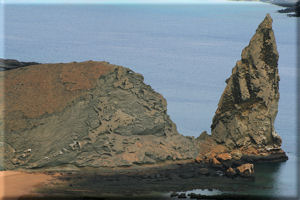 Close-up of Pinnacle Rock, Bartolom� Island